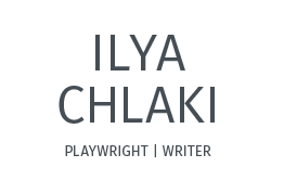 Ilya Chlaki, playwright, writer